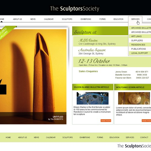Sculptors Society needs a revamp