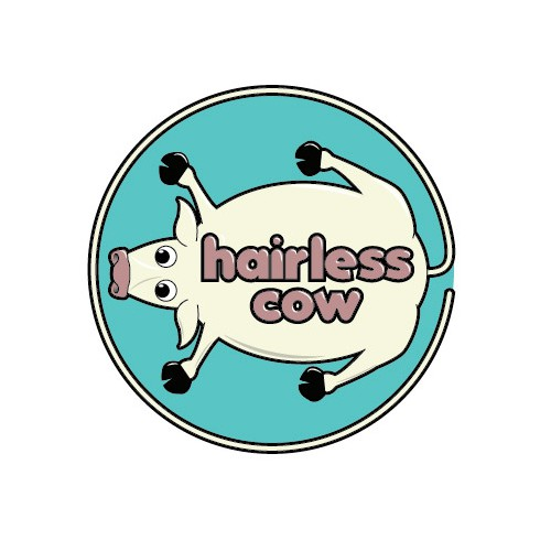 Logo for a hair removal salon.