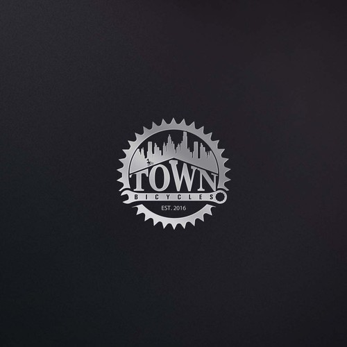 Logo Design for Town Bicycles