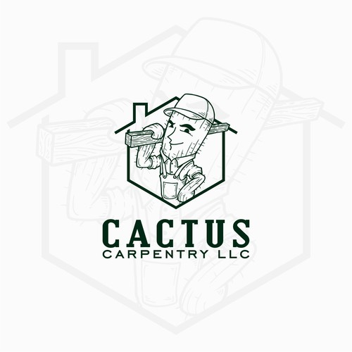 Cactus Carpentry Logo