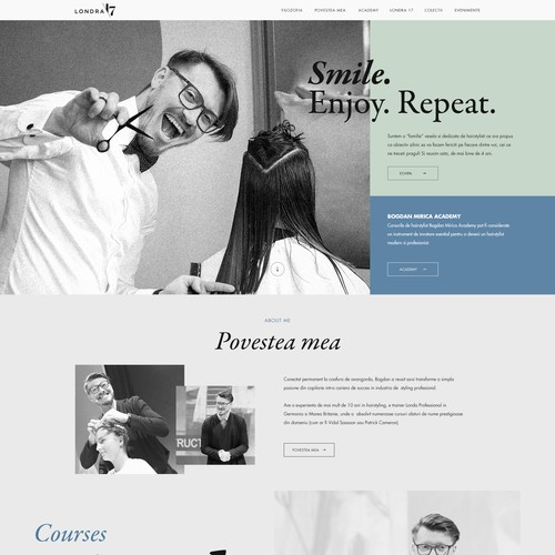 Custome Webdesign Template - www.londra17.ro