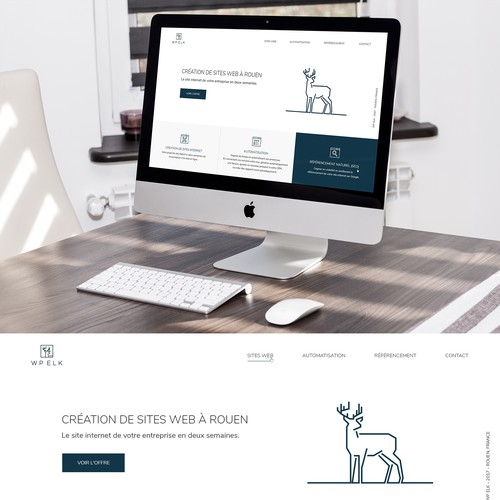 Web design for a web agency