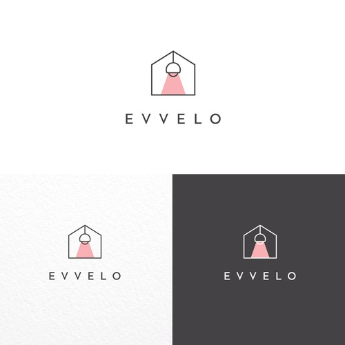 Modern logo for home decor company