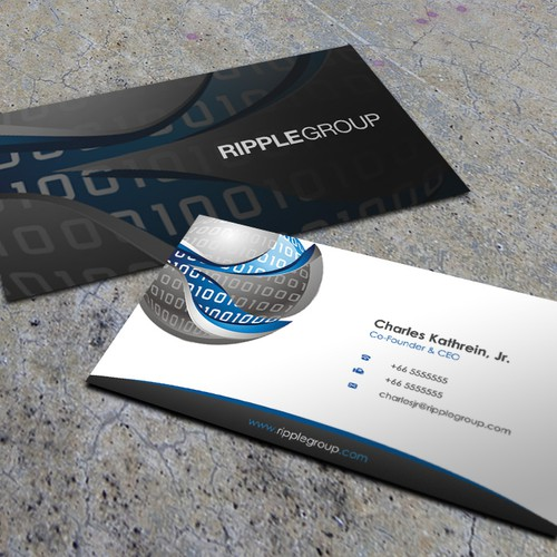 Sexy Business Card needed for Ripple Group
