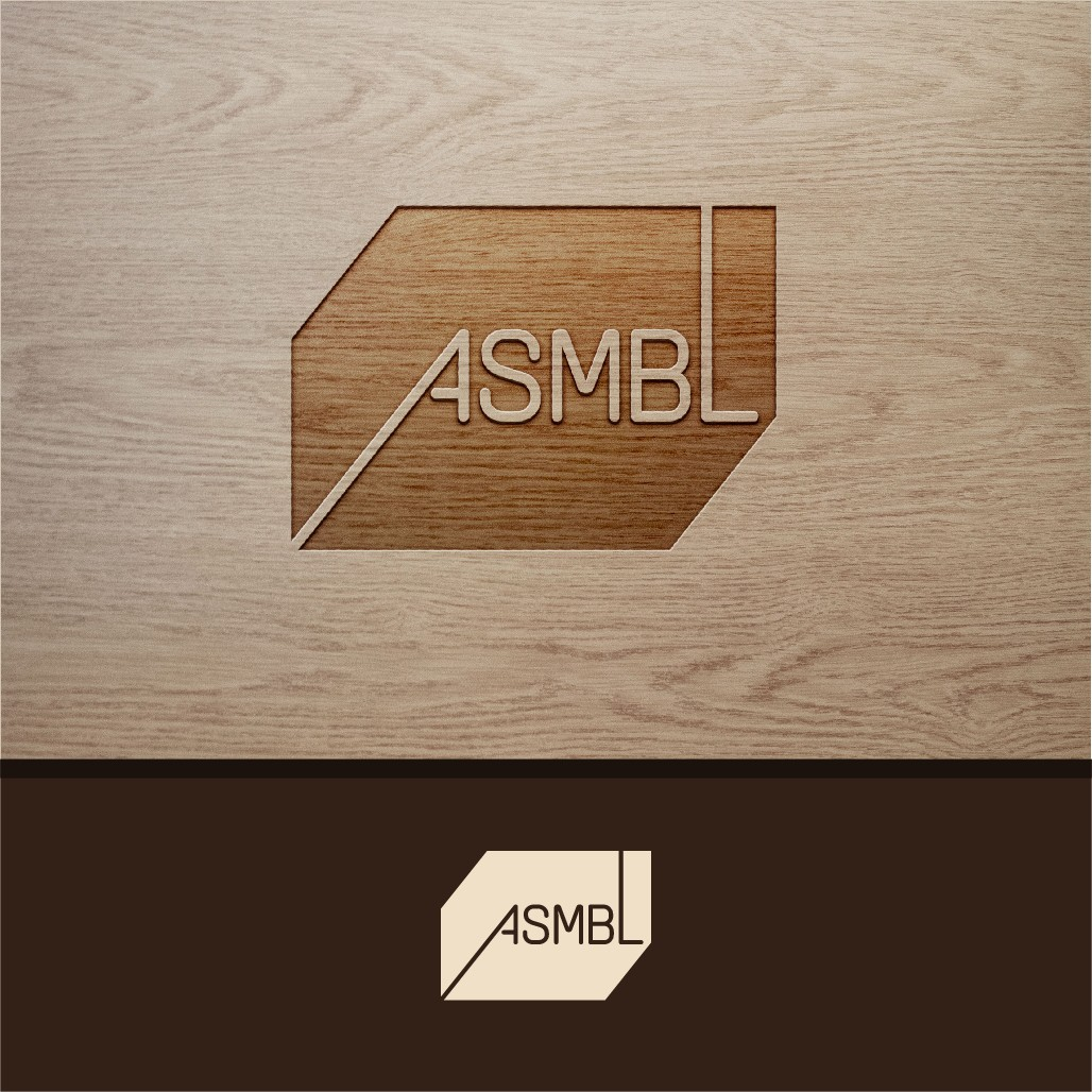 Logo for ASMBL - a new company utilizing technology to change how we design and build furniture to homes