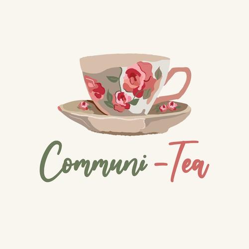 Communi- Tea Logo