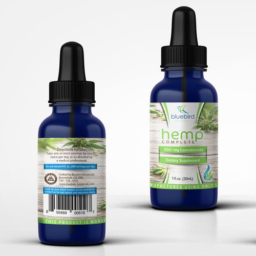 Herbal supplement from hemp