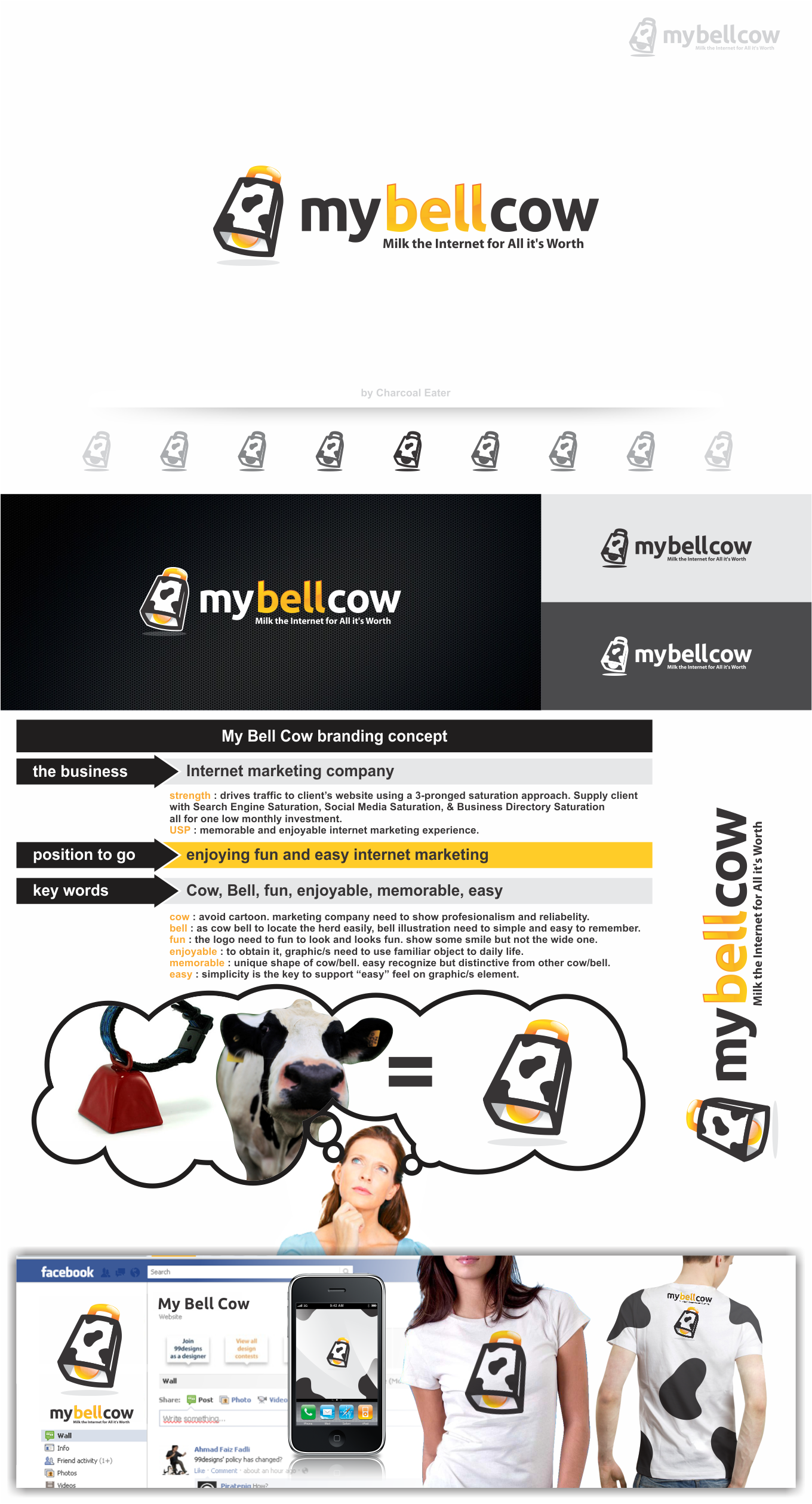 Logo for My Bell Cow