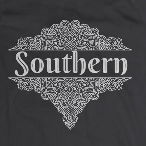 Ornamentic t-shirt design