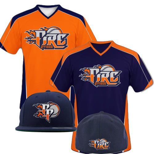 Logo Baseball tees design