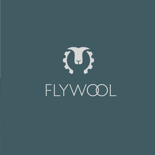 Logo for Flywool, a new clothing company