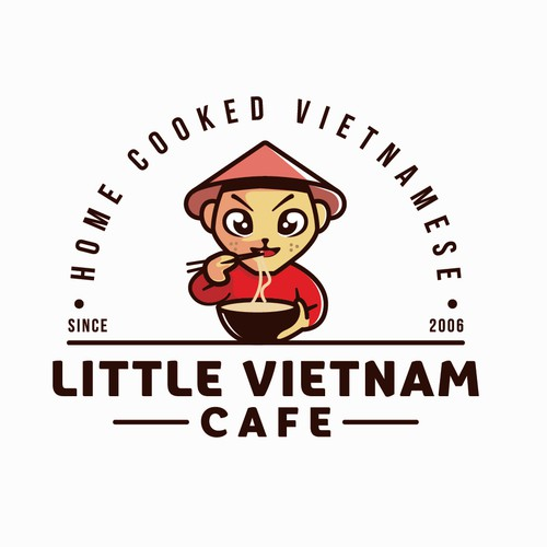logo little vietnam cafe