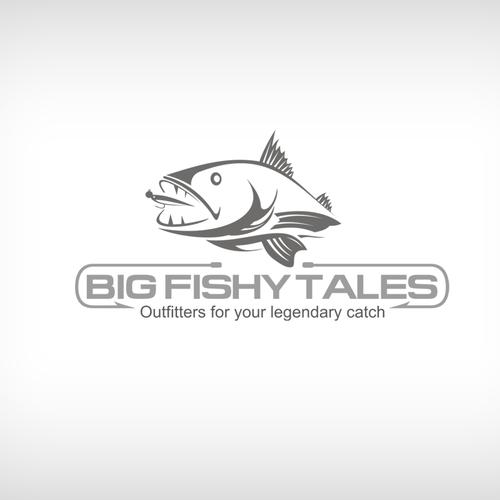 The stuff of Legend... seeking an amazing Big Fishy Tales logo!