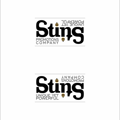 ambigram of sting