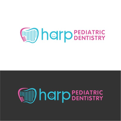 Logo design for a Pediatric Dentist