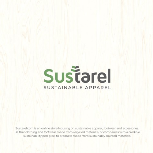 Unique Logo for Sustainable Apparel