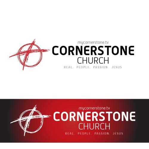 Logo study for Cornerstone Church