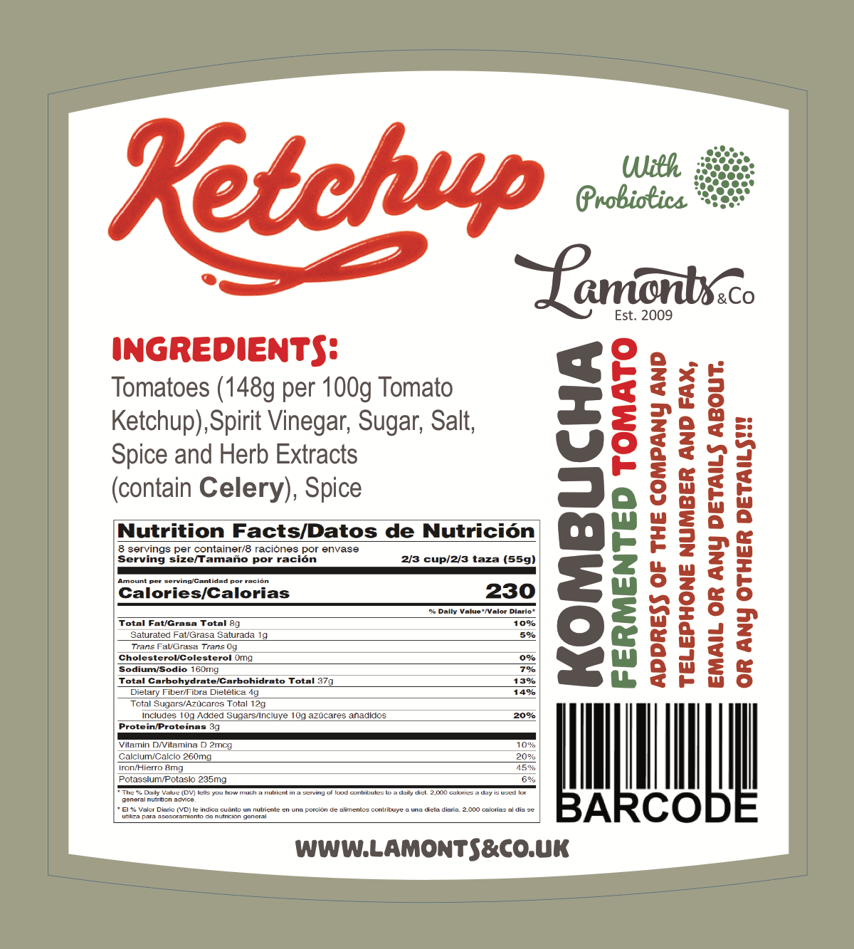 packaging for fermented ketchup 2