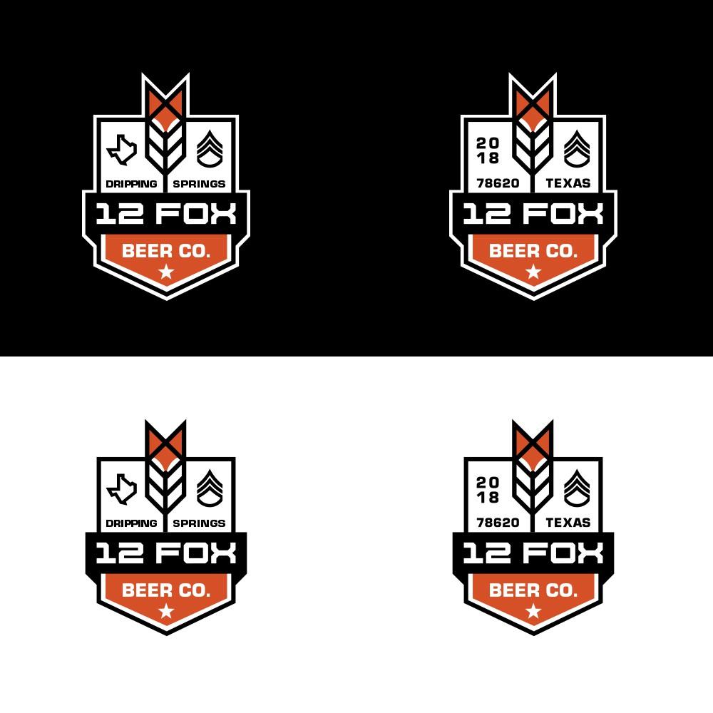 12 Fox Beer Logo