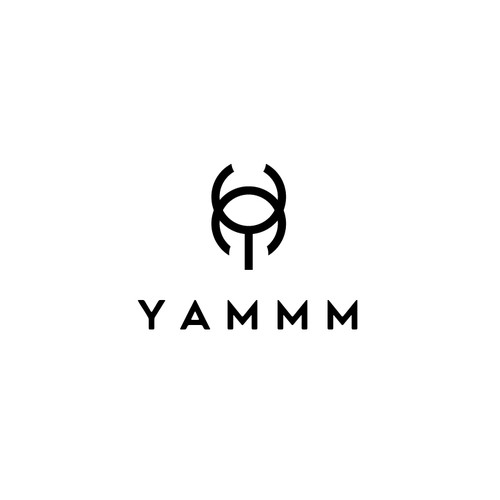 Simple and Elegan Logo For YAMMM