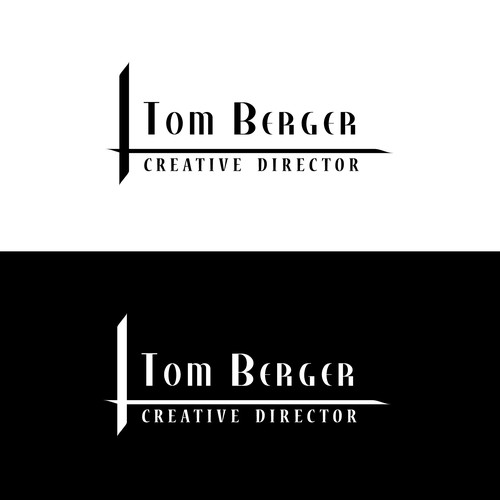 Create an epic logo for a Creative Director
