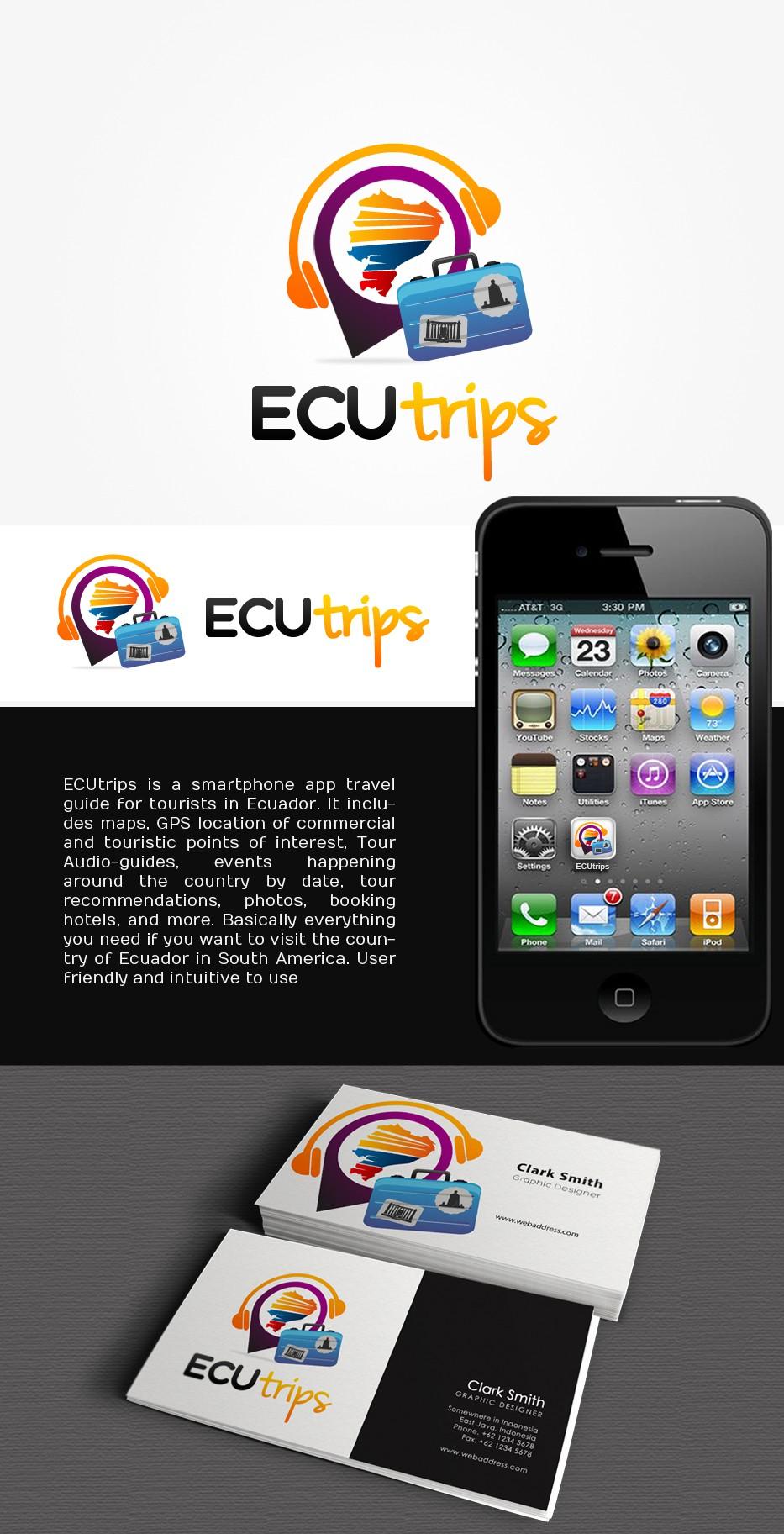 Logo wanted for Ecuador's Complete Travel Guide Mobile APP