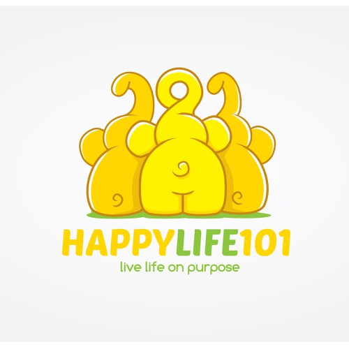 logo concept for HappyLife101
