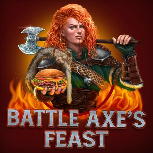 Battle Axe's Logo