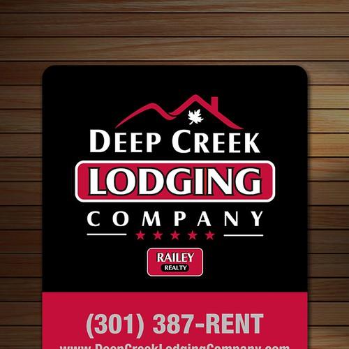 Deep Creek Lodging Company - House Signs