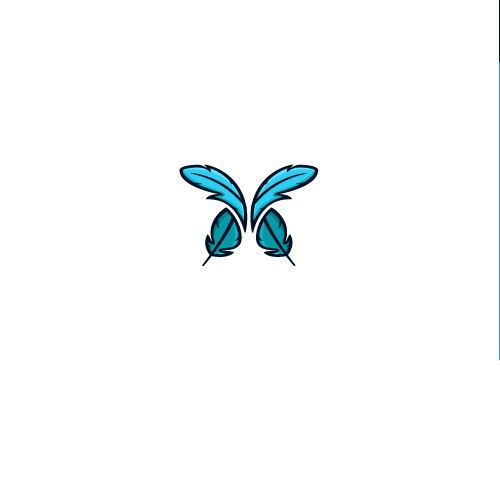 Butterfly logo for Pillow Company