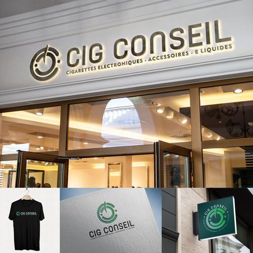 Professional logo for Cig Conseil