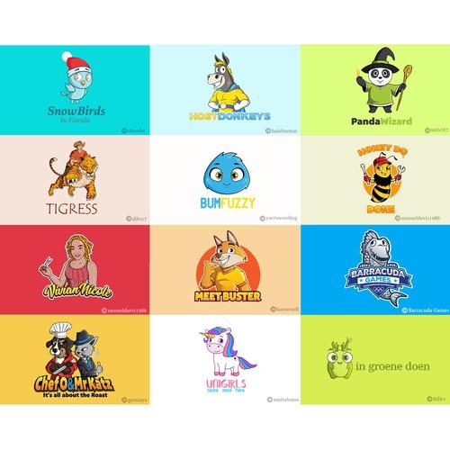 Logo mascots - Grid 3
