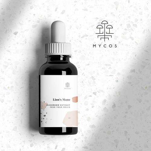 Dropper Bottle Packaging for Mycos