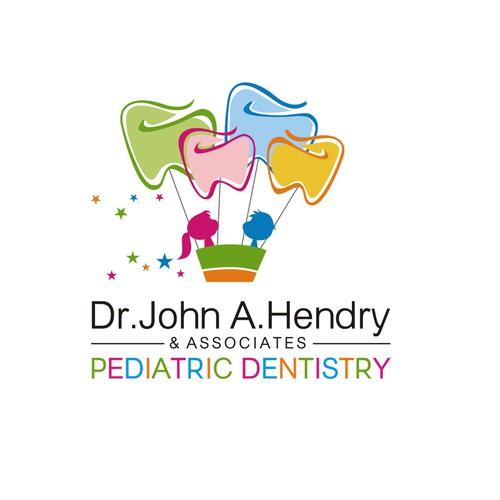 Pediatric dentistry logo design
