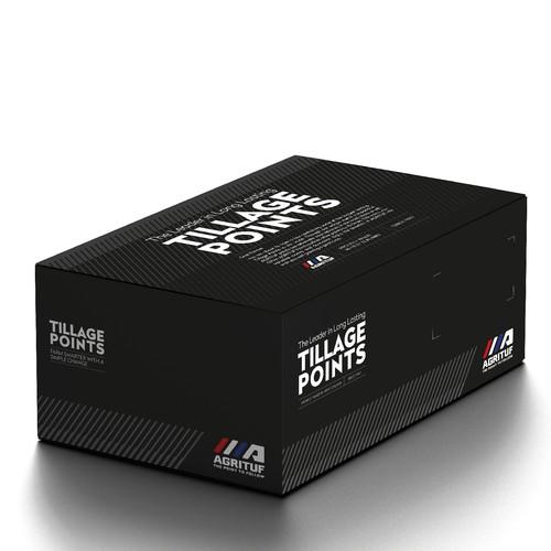 Box for Tillage Points