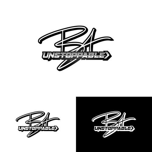 Unstoppable BA logo design
