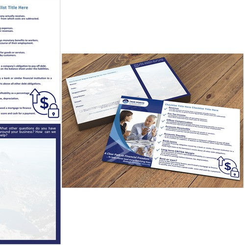 Matching Checklist Contact Card