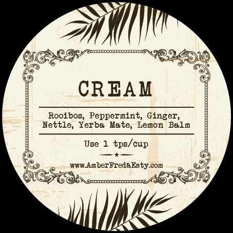 Vintage Apothecary Labels with Floral Theme