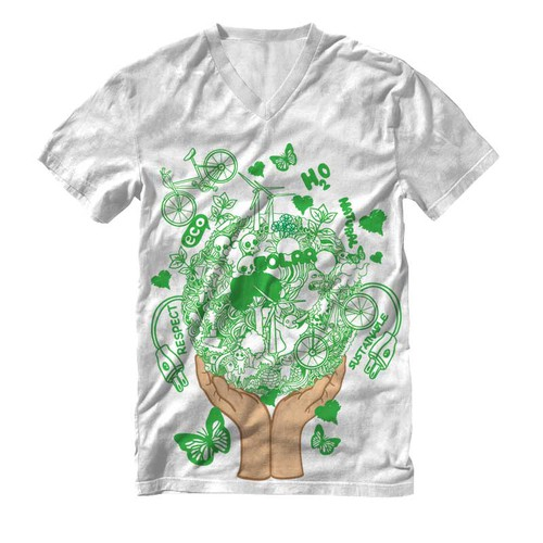 Become a Logical Tee Artist for hire.  You give us the art to use, we put your name on the shirt.