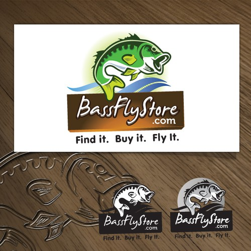 Fly Fishing Store Online Logo