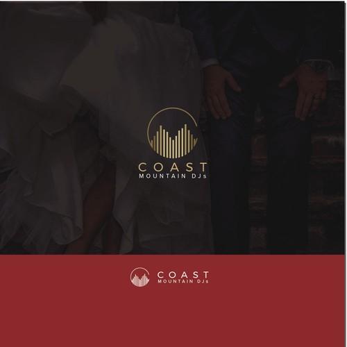 Logo concept for DJ company