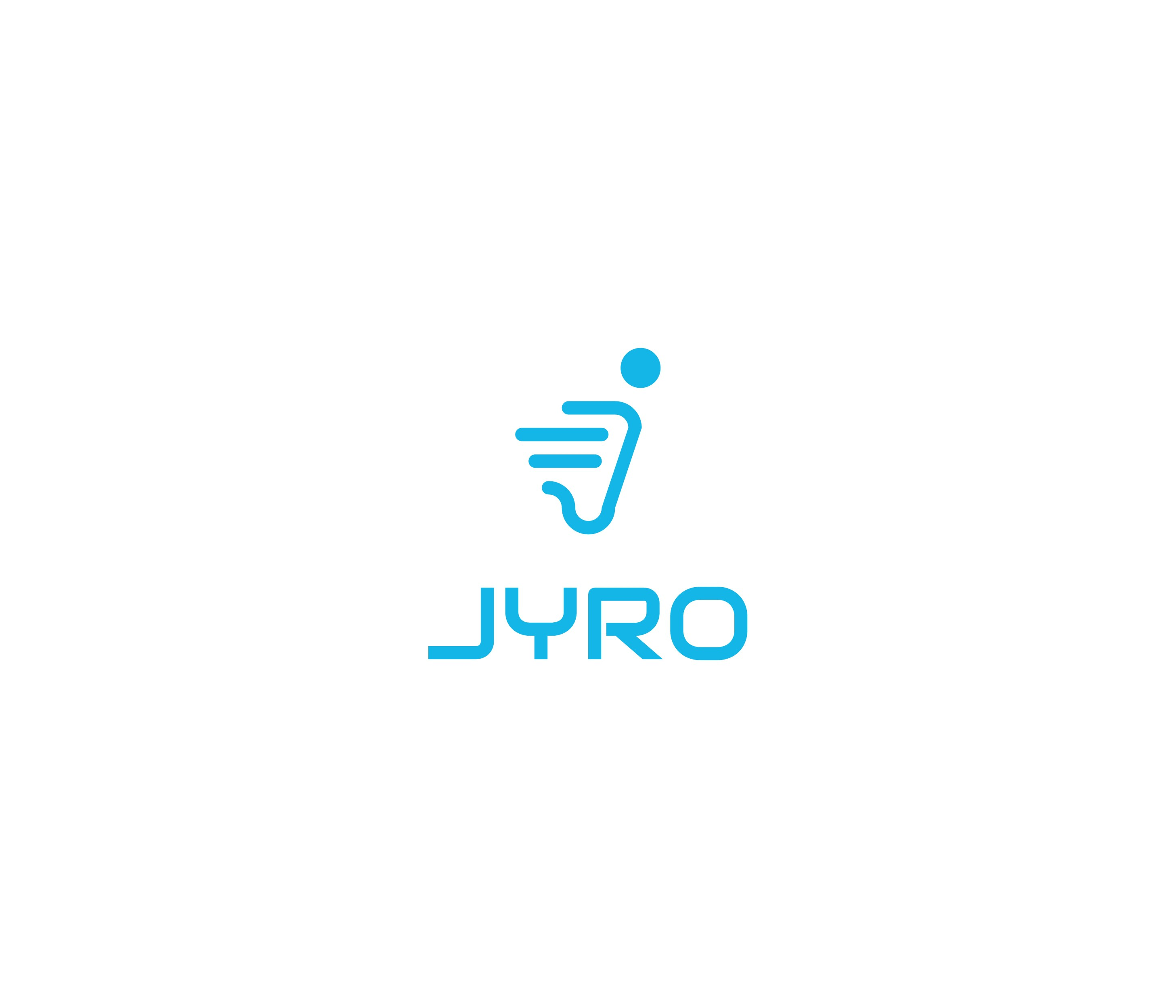 Create a cool logo for the new Jyro electronic scooter