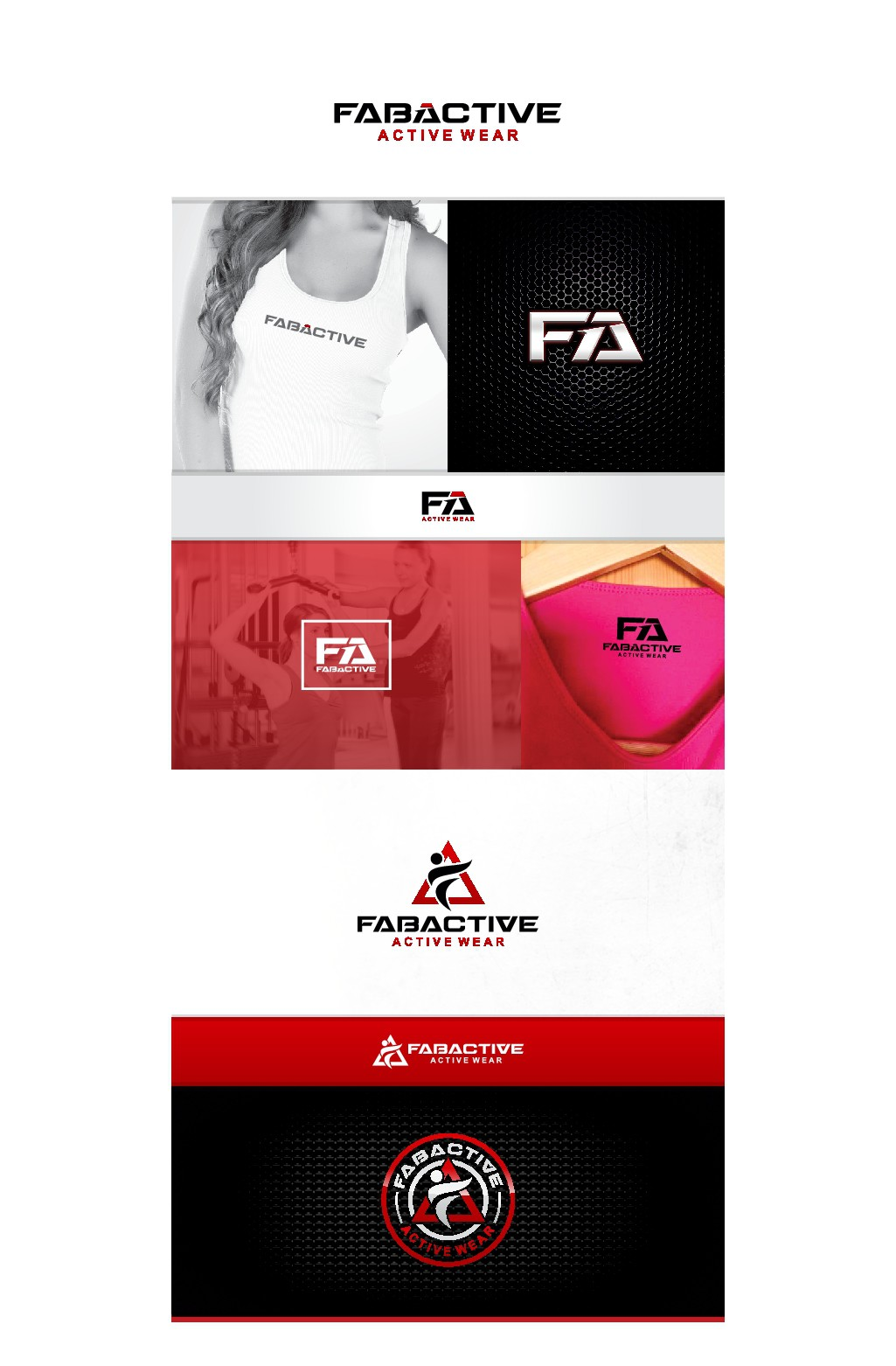 Logo for Activewear Brand