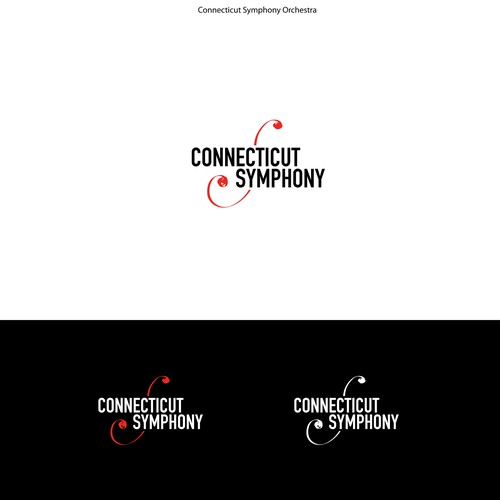 Logo concept contrasting a classic symbol with a modern typography