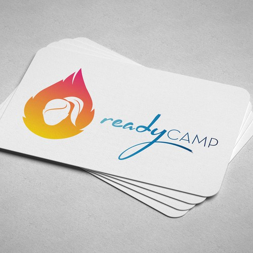 Modern and Powerful Logo for ReadyCAMP