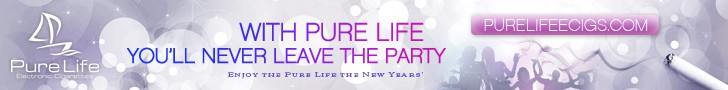 Help Pure Life Electronic Cigarettes with a new banner ad