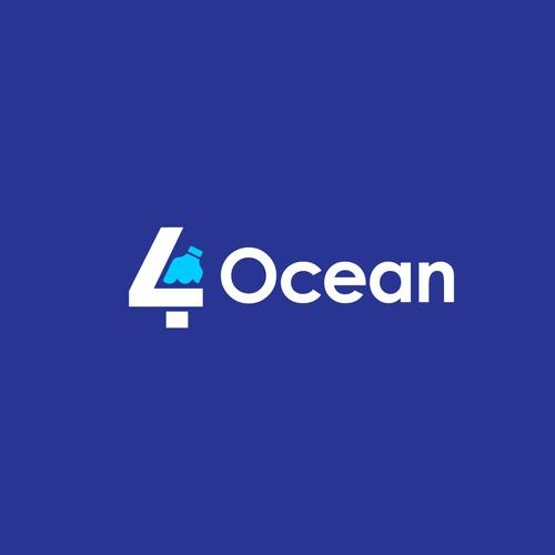 Logo Concept for Ocean Clean-up Organization