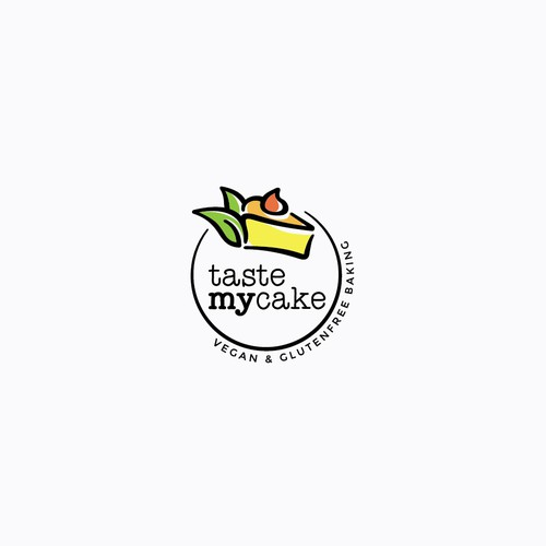 Logo for a company selling glutenfree and vegan baking mixtures