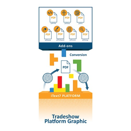 Tradeshow Platform Graphic