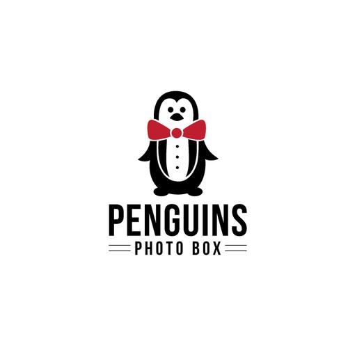 Penguins photo box